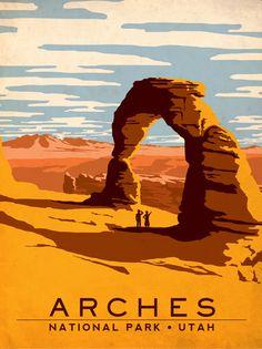 Mesa Verde National Park poster.