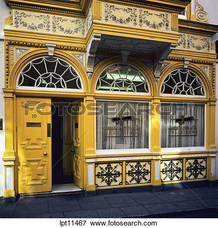 Picture of GEORGIAN HOUSE WITH YELLOW PAINTED FACADE ANGLESEA.