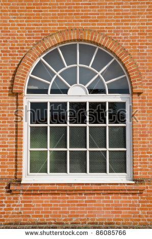 Arch Window Stock Photos, Royalty.