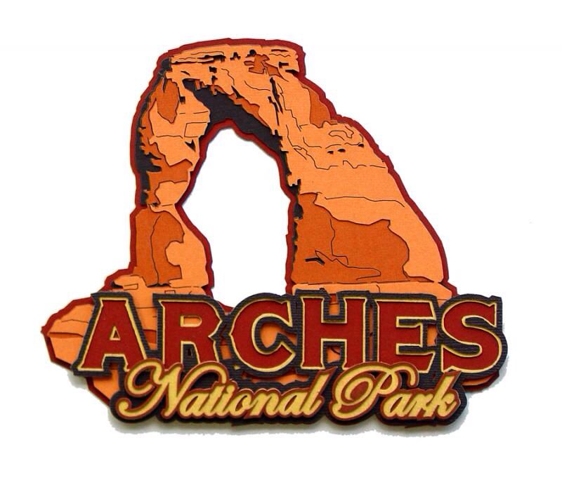 Arches National Park by Paper Wizard. Available at www.