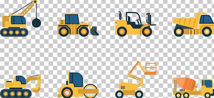 Architectural Engineering Vehicle Heavy Equipment PNG.