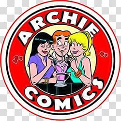 Archie Comics logo transparent background PNG clipart.