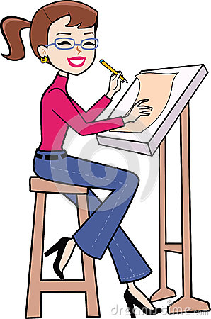 Architect clipart caricature, Architect caricature.