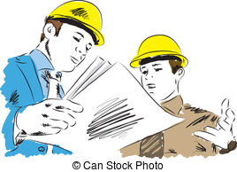 Vector Clip Art of architect illustration csp14219618.