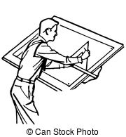 Architect clipart black and white 3 » Clipart Station.