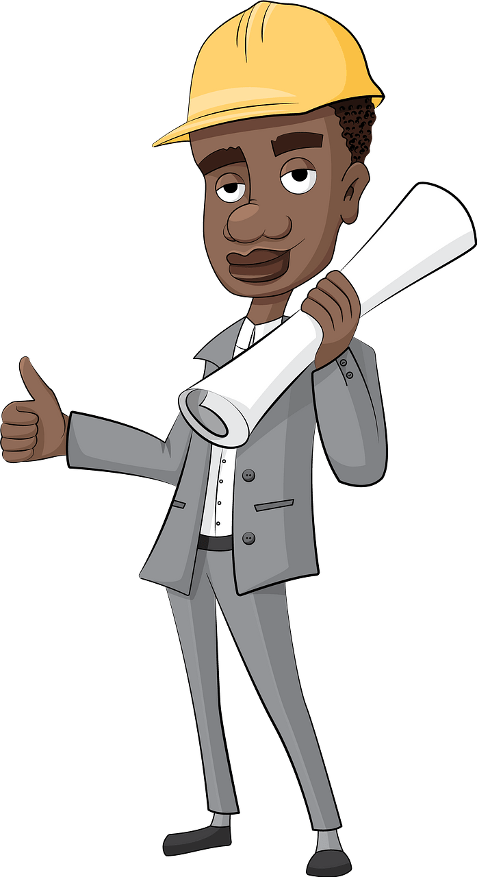 Architect engineer clipart. Free download..