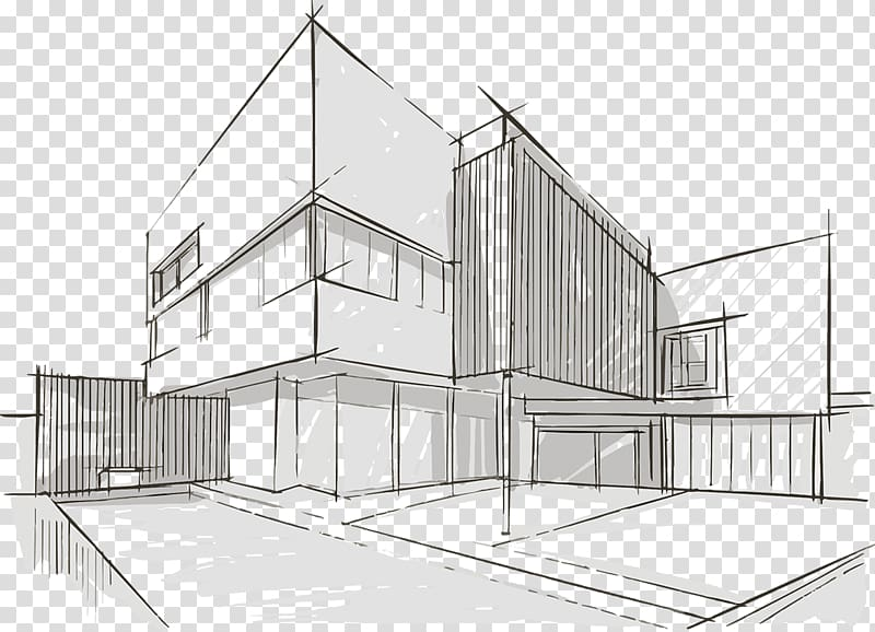 Architecture Sketch graphics Drawing Design, Land Developer.