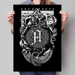 Details about New Custom Architects band Poster Print Wall Decor.
