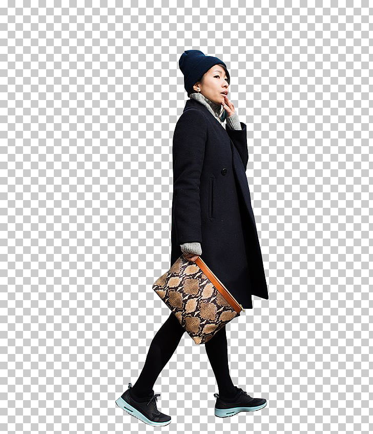 Architectural rendering, family linear fashion figures PNG.