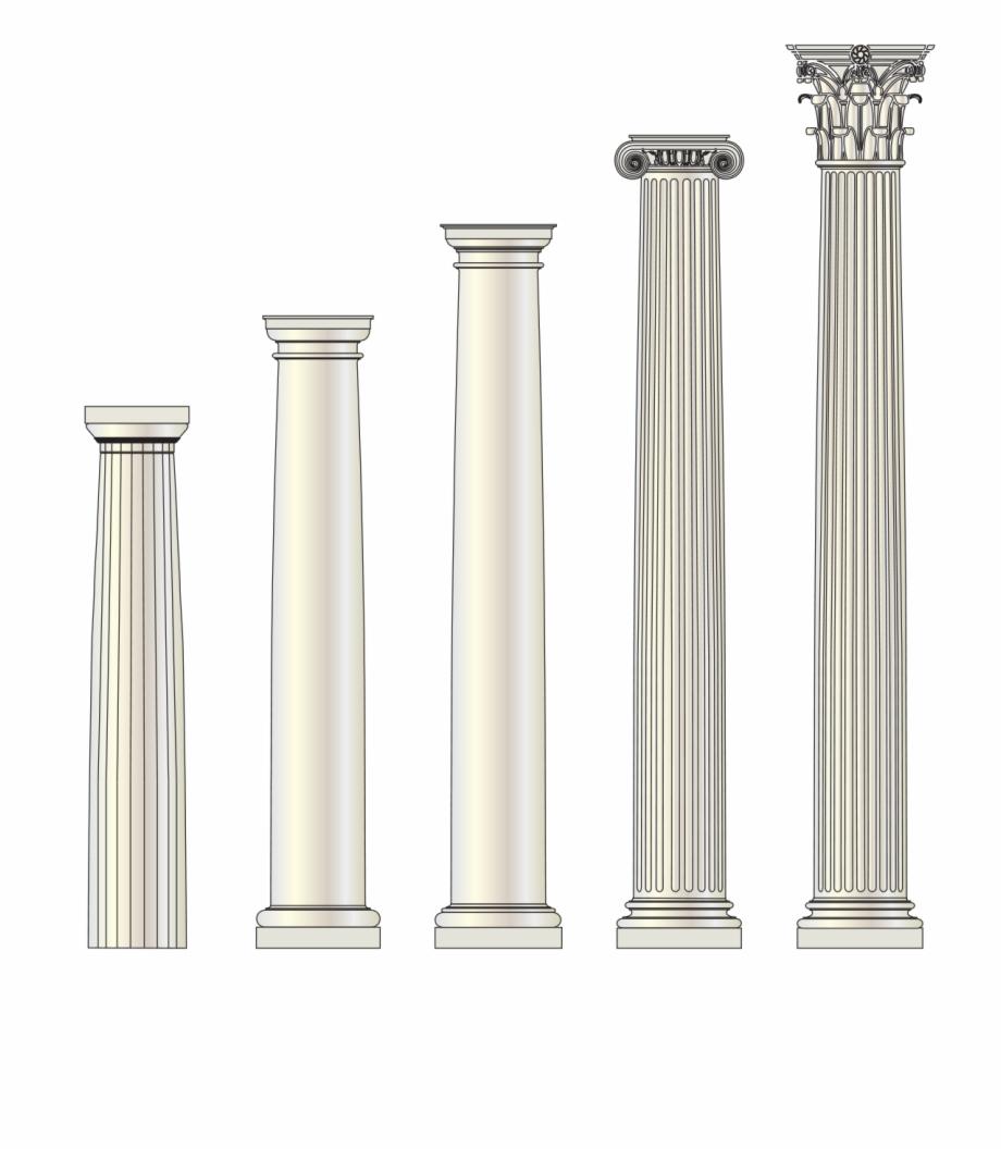 Column Transparent Image Architectural Column Details.