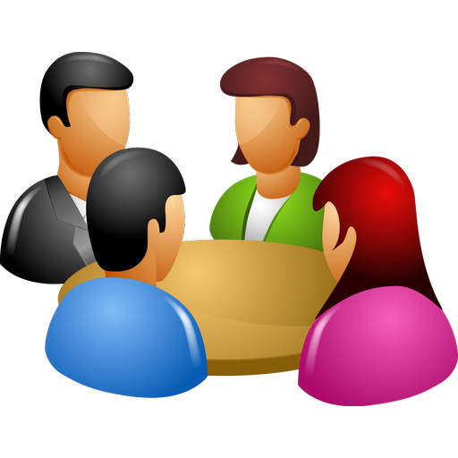 Conference clipart review meeting, Conference review meeting.