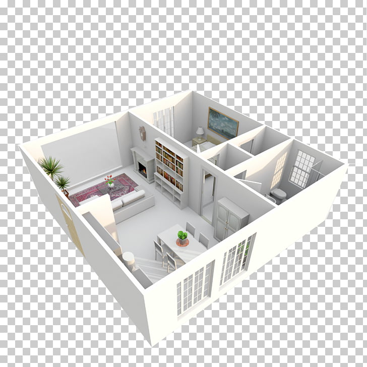 3D floor plan 3D computer graphics Architectural rendering.