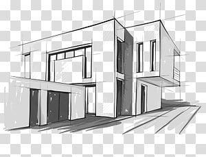 Modern Architecture transparent background PNG cliparts free.