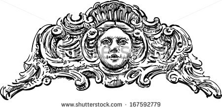 Baroque Architectural Style Stock Photos, Royalty.