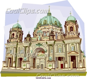 Germany Berliner Dom Berlin Cathedral Clip Art.