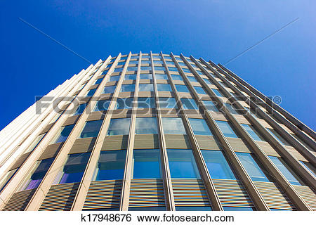 Stock Illustration of Modern Architecture in Berlin, Germ.