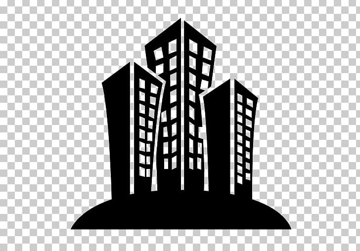 Building Computer Icons Black And White PNG, Clipart.