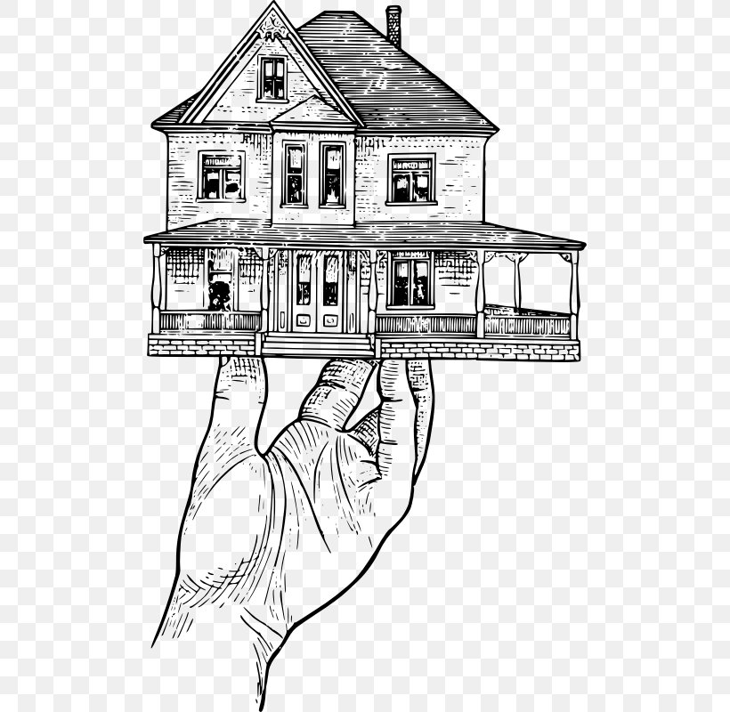 House Home Real Estate Clip Art, PNG, 498x800px, House.