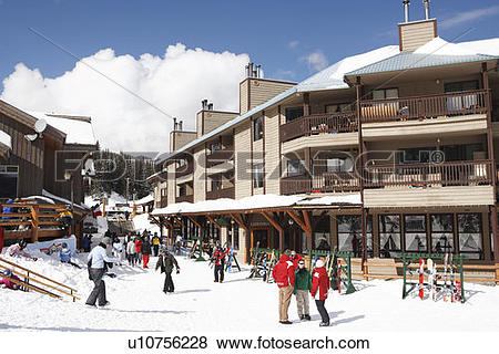 Pictures of Village of Apex Mountain Ski Resort, Penticton.
