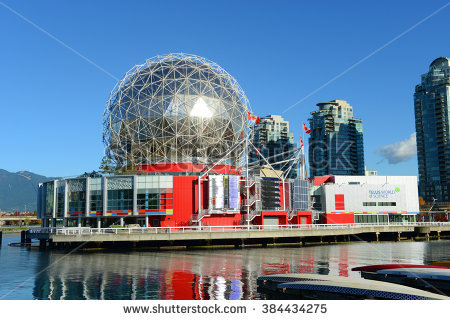 Vancouver City Skyline Bc Place Stadium Stock Photo 239772406.
