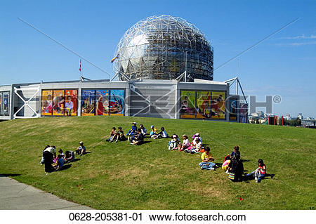 Stock Photography of Canada, British Columbia, Vancouver, Science.