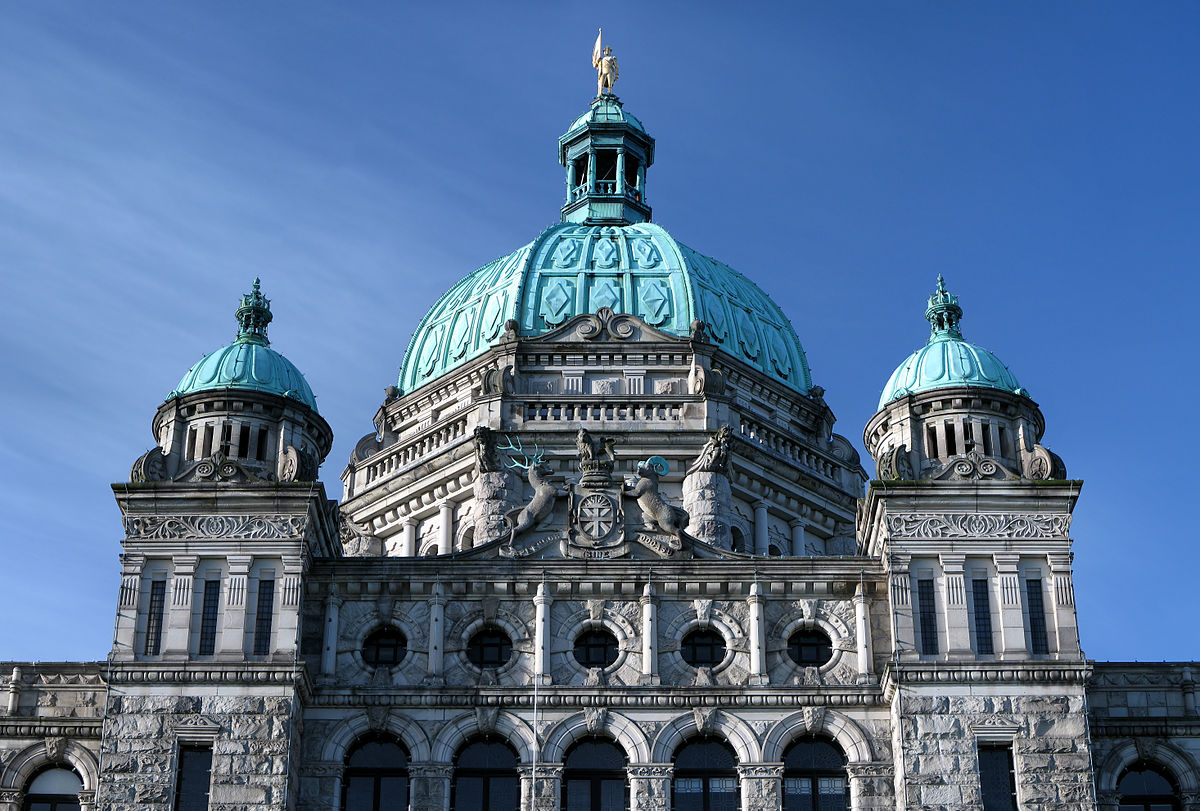 British Columbia Parliament Buildings.