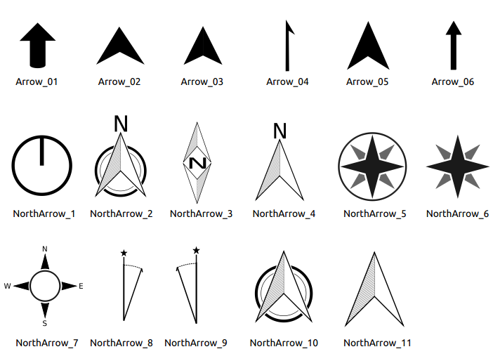 North Arrow Architecture Png.