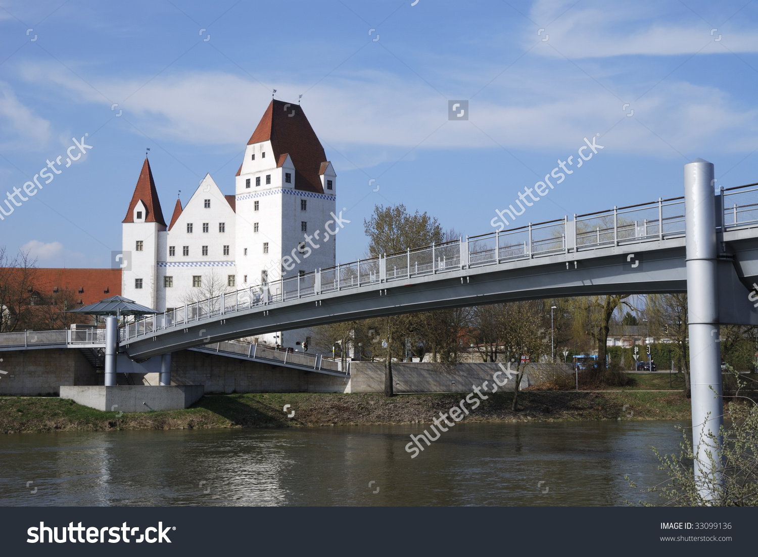 The Castle Of Ingolstadt (Neues Schloss) Stock Photo 33099136.