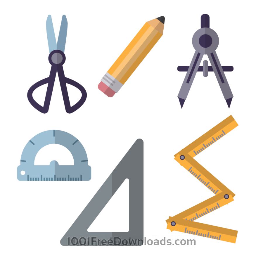 Architecture Tools Clipart.
