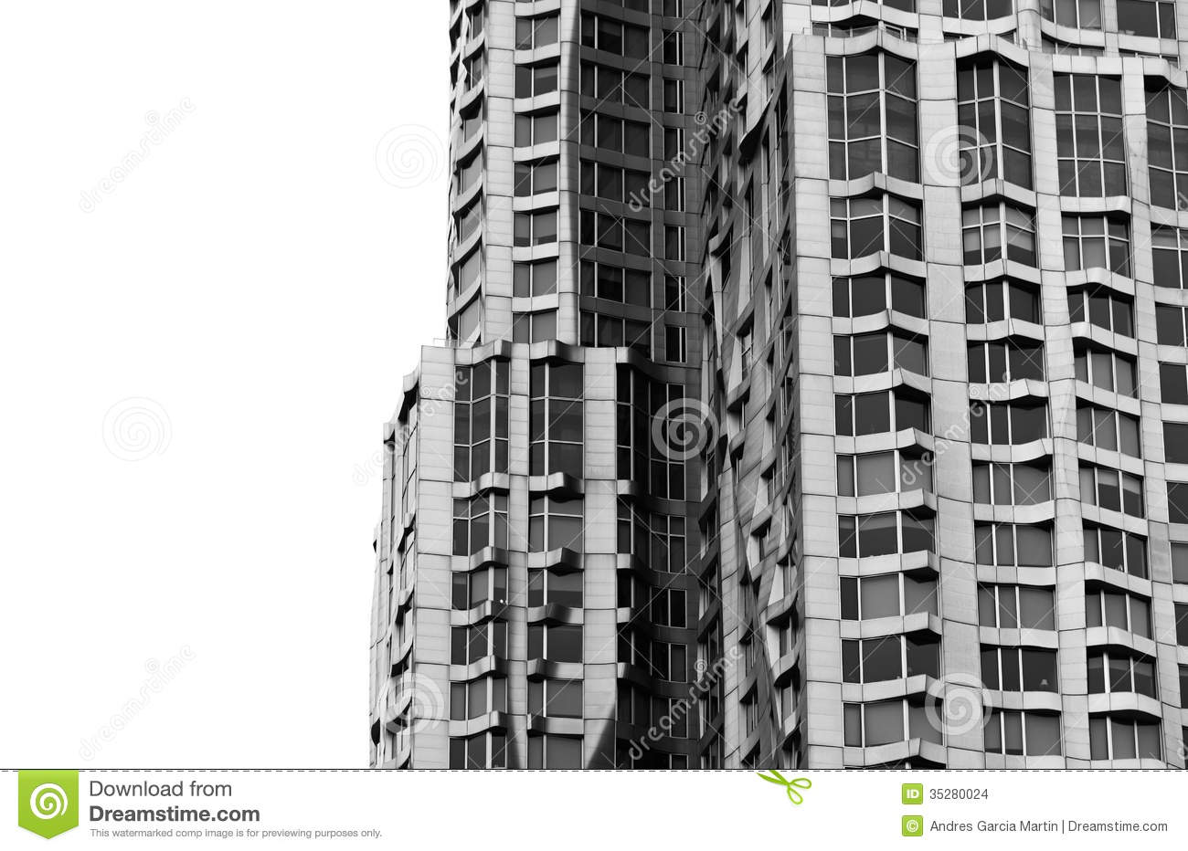 New York By Frank Gehry Editorial Stock Image.