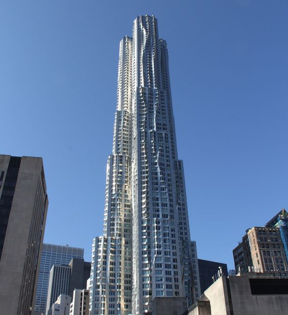 Frank Gehry Carbonite tower.