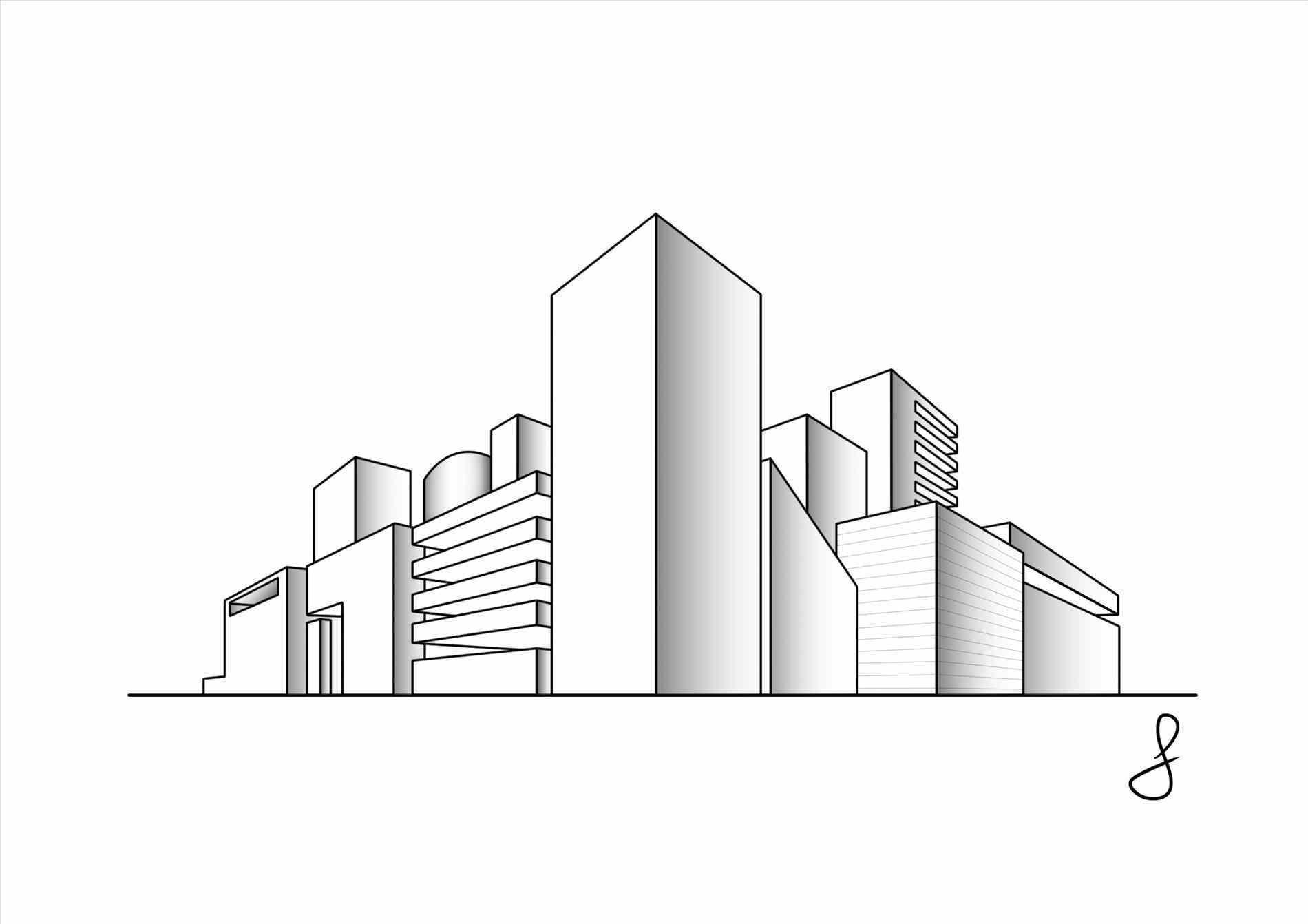 1900x1342 91+ Architecture Design Sketch #40745.