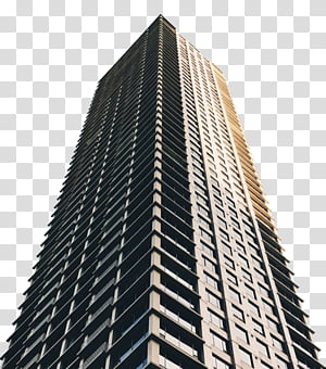 Buildings, gray building graphic transparent background PNG clipart.