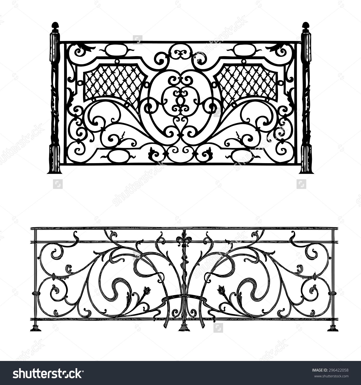 railing clipart