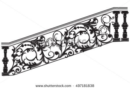 Metal Railing Stock Vectors, Images & Vector Art.