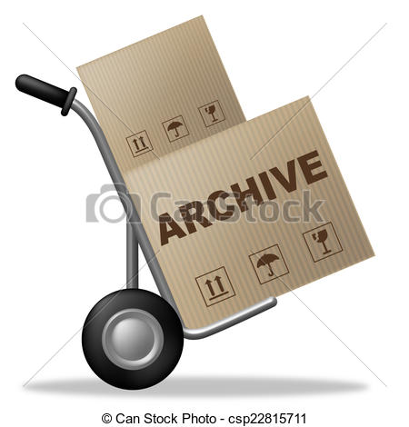 Archive clipart.