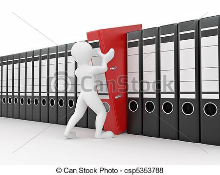 Archive clipart.