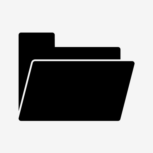 Folder Vector Icon, Archive, Docs, Folder Icon PNG and Vector with.