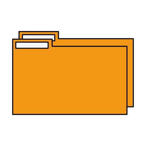color folder file to save documents information to archive.