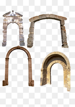 Stone Arch PNG Images.
