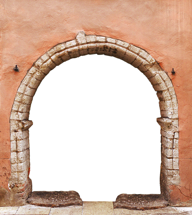 Portal Archway By Looking.
