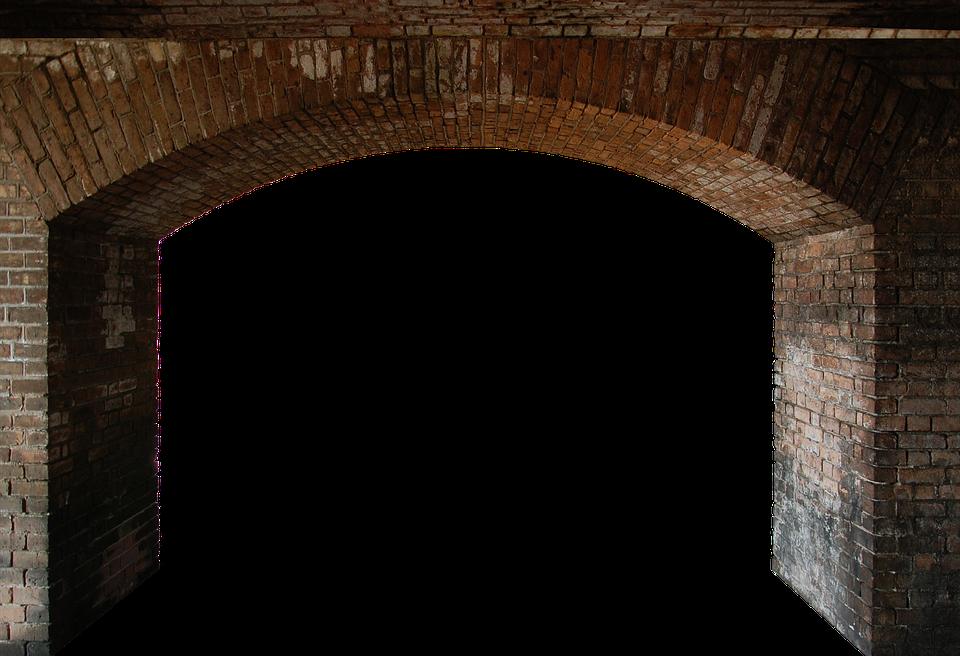 Arch Stone Wall.