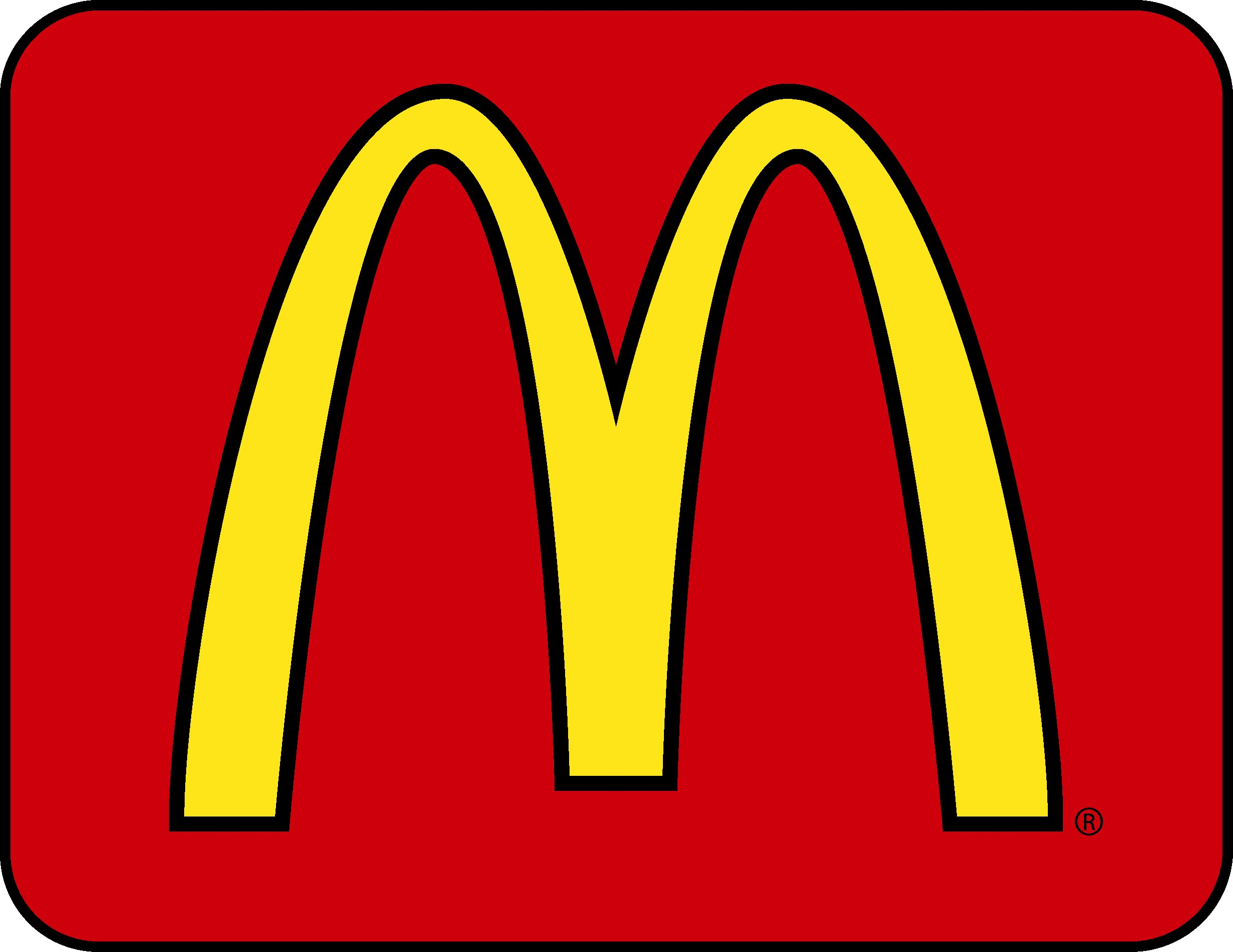Mcdonalds arches clipart.