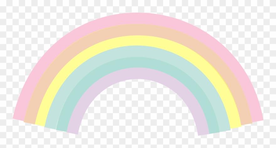 Chuva De Benção Arco Iris Png Clipart #283492.