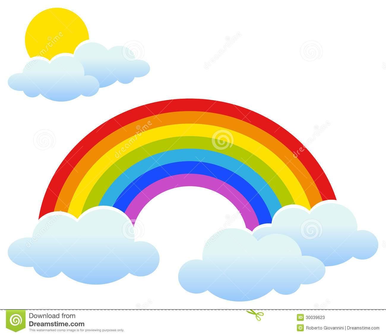 Clipart arcobaleno 6 » Clipart Portal.