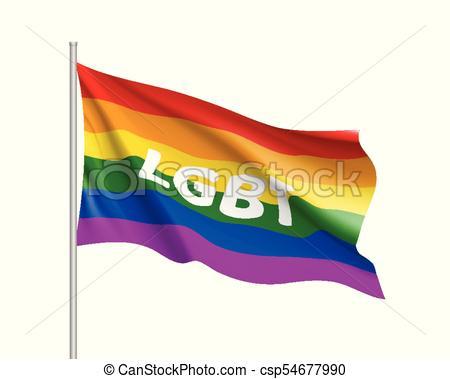 colorare, lgbt, bandiera, clipart, arcobaleno.
