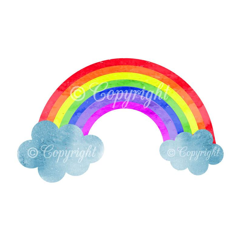 Acquerello arcobaleno Clipart, arcobaleno Clipart, Clipart digitale, sfondo  arcobaleno, Cloud, Clipart Scrapbooking, Childrens Clipart, Clipart.