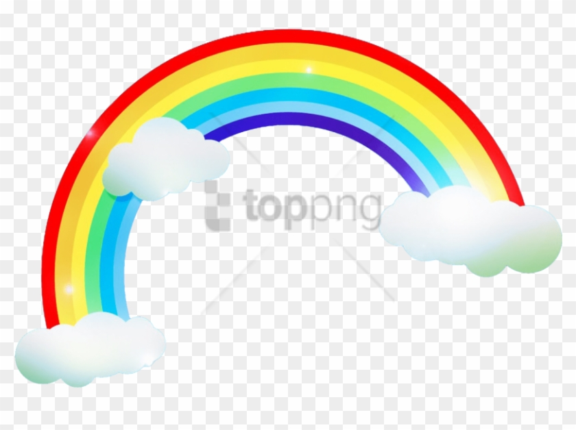 Free Png Rainbows And Clouds Png Png Image With Transparent.