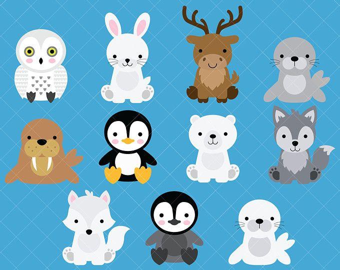 Arctic animals.