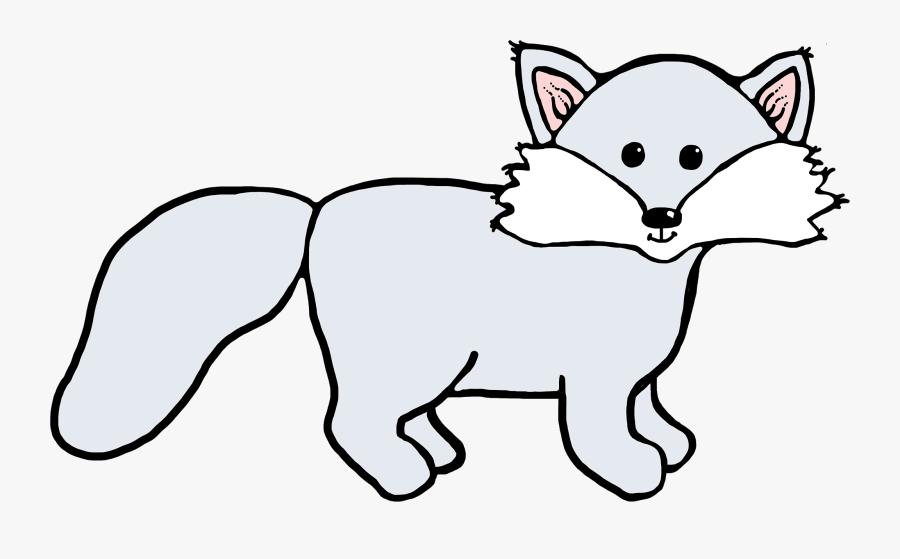 Arctic Fox Clipart.